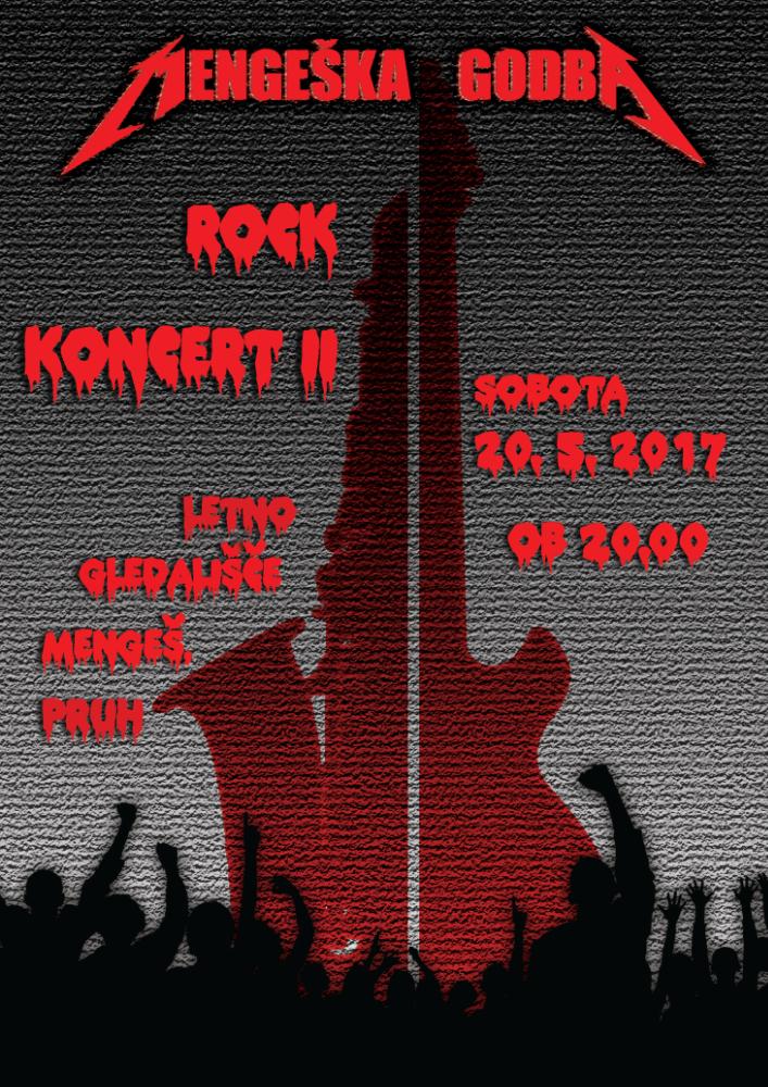 Rock koncert 2. del – PRESTAVLJEN!!!
