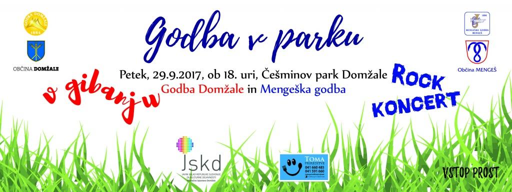 Godba v parku – koncert prestavljen