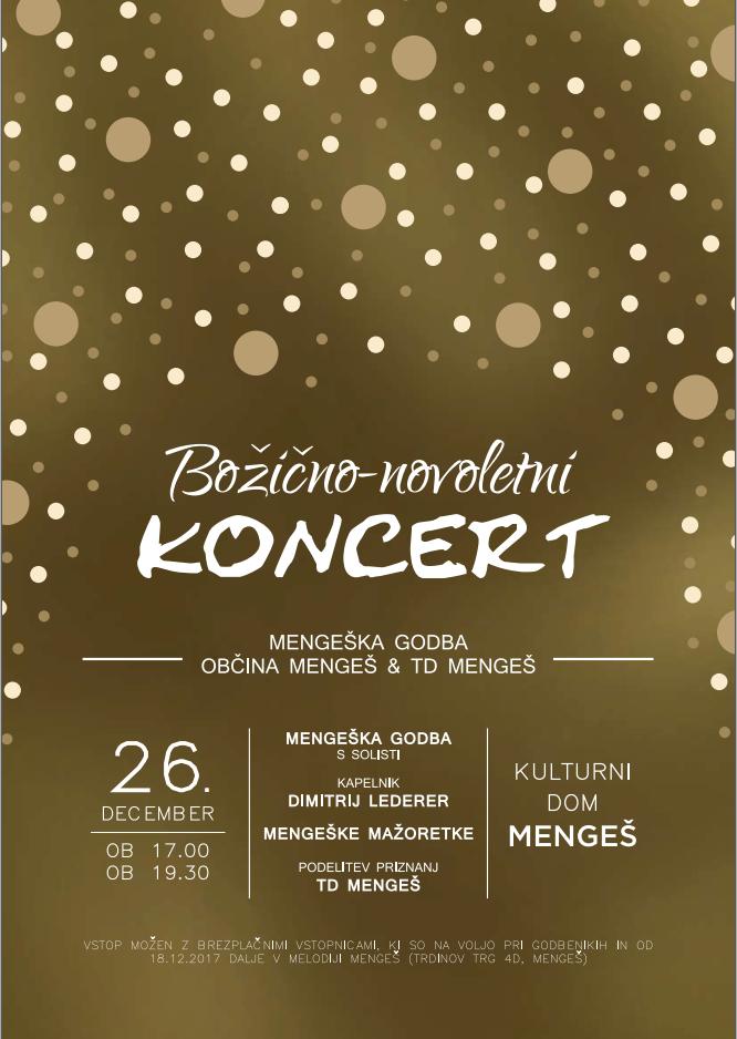 Novoletna koncerta 2017